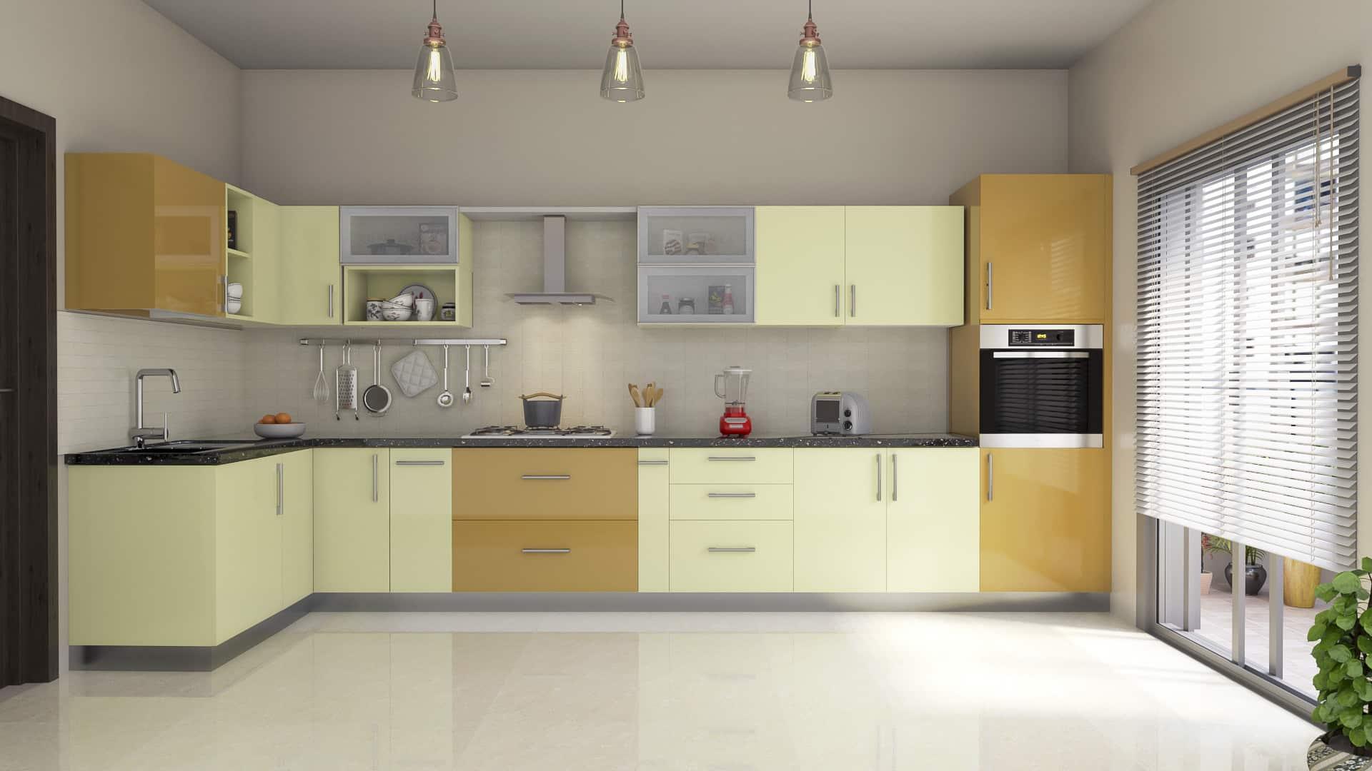 Indian House Design with a Modern Kitchen   Best Modular Kitchen ...