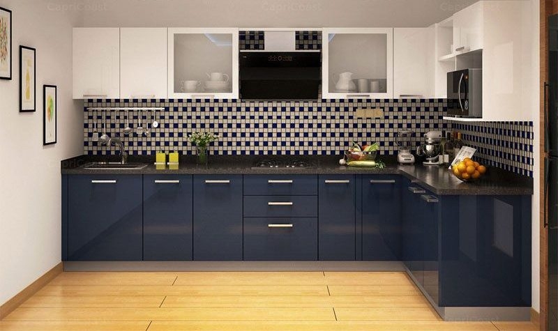 Compact Kitchen For Mumbai Residence Best Eco Friendly Modular Kitchen Designers,High End Modern Interior Design