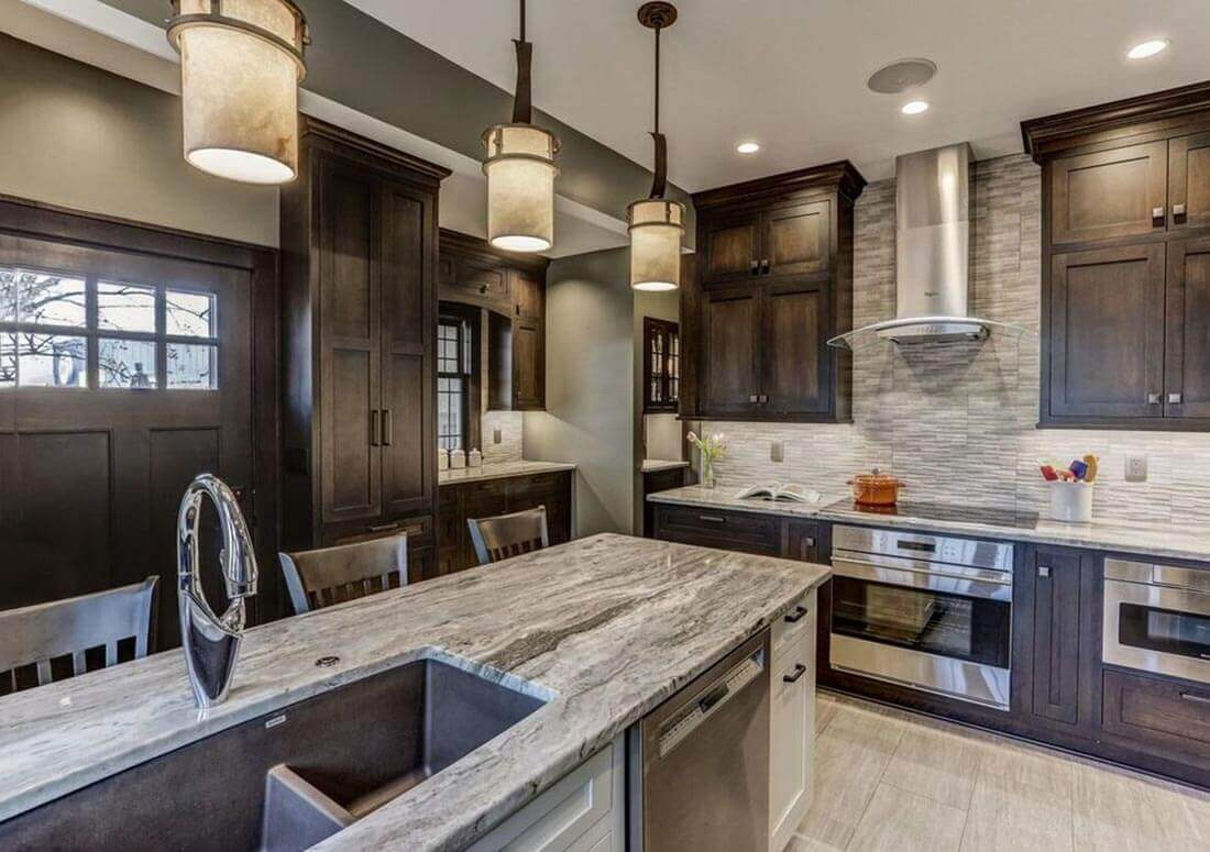 Top Kitchen Countertops Equipped with Different Materials ... on Modern Kitchen Counter  id=21573
